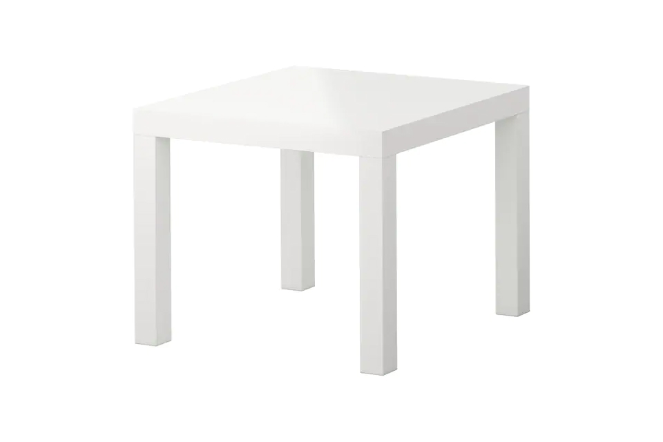 Table Basse Lack Blanche