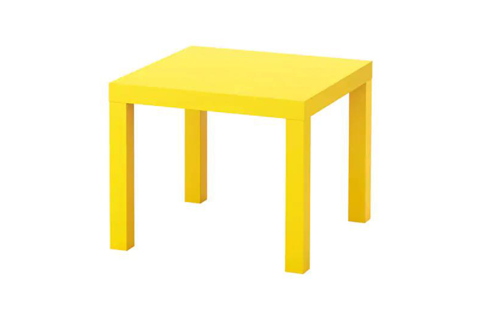 Table Basse Lack Jaune